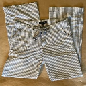 Sanctuary size 27 wide leg full length linen pants
